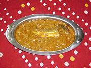 南インドスタイル魚カレー