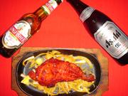ビール&タンドリーチキン